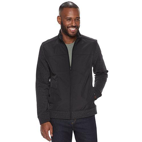 Men's Apt. 9® Textured Mixed Media Jacket