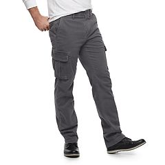 Big & Tall SONOMA Goods for Life™ Regular-Fit Flexwear Stretch Cargo Pants