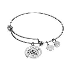 love this life 'Love You to The Moon' Charm Bangle Bracelet