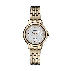 Seiko Women's Stainless Steel Solar Dress Watch