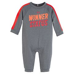 Baby Boy Under Armour 'Winner Status' Jumpsuit Coverall
