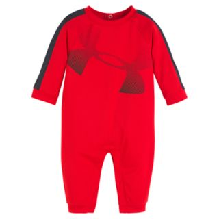 Baby Boy Under Armour Logo Jumpsuit Coverall