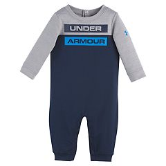 Baby Boy Under Armour Colorblock Jumpsuit Coverall