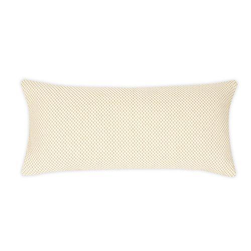 FlatIron Textured Diagonal Weave Oblong Throw Pillow