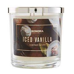 SONOMA Goods for Life™ Iced Vanilla  14-oz. Candle Jar