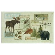 Bacova Vintage Outdoors Bath Rug