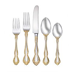 Oneida Golden Mandolina 45-piece Flatware Set