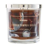 SONOMA Goods for Life? Bourbon Pumpkin Brulee 14-oz. Candle Jar