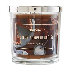 SONOMA Goods for Life™ Bourbon Pumpkin Brulee 14-oz. Candle Jar