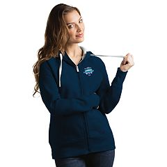 Women's Antigua Villanova Wildcats 2018 Champions Victory Full-Zip Hoodie