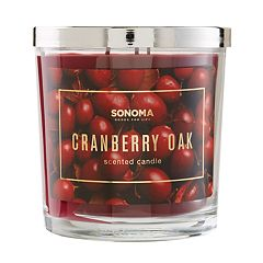 SONOMA Goods for Life™ Cranberry Oak 14-oz. Candle Jar