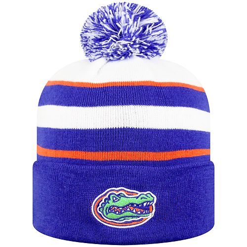 08c6644b402 ... where to buy mens top of the world florida gators skyview cuffed knit  beanie hat 4a3af