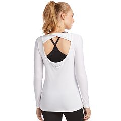 Women's Skechers Essential Twist Open Back Top