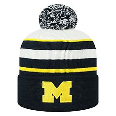Adult Top of the World Michigan Wolverines Skyview Beanie