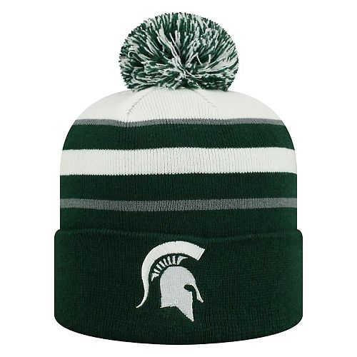 6f7bc4c4f5b Adult Top of the World Michigan State Spartans Skyview Beanie