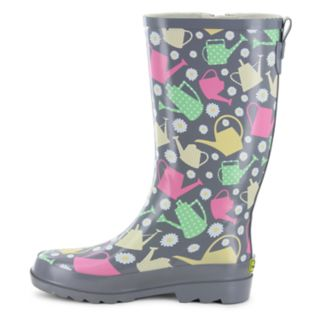 Western Chief Colorful Canisters Women's Waterproof Rain Boots