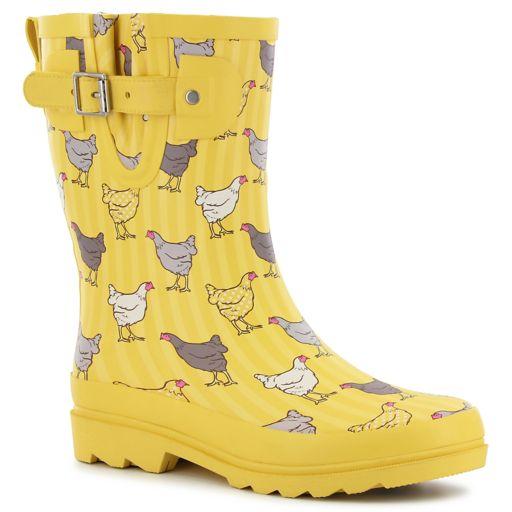 Western Chief Fowl Play Women's Waterproof Rain Boots
