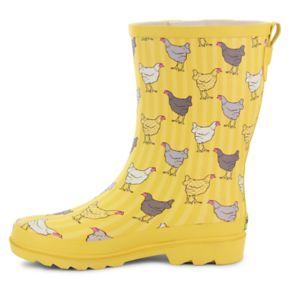 Western Chief Fowl Play ... Women's Waterproof Rain Boots