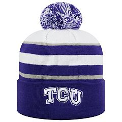 Adult Top of the World TCU Horned Frogs Skyview Beanie