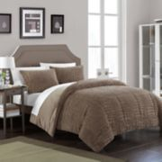 Chic Home Alligator 3-piece Queen Comforter Set