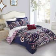 Chic Home Lively 4-piece Duvet Cover Set
