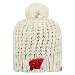 Men's Top of the World Wisconsin Badgers Slouch Knit Hat