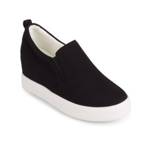 Wanted Women's Slip-On Sneaker Wedge Shoes