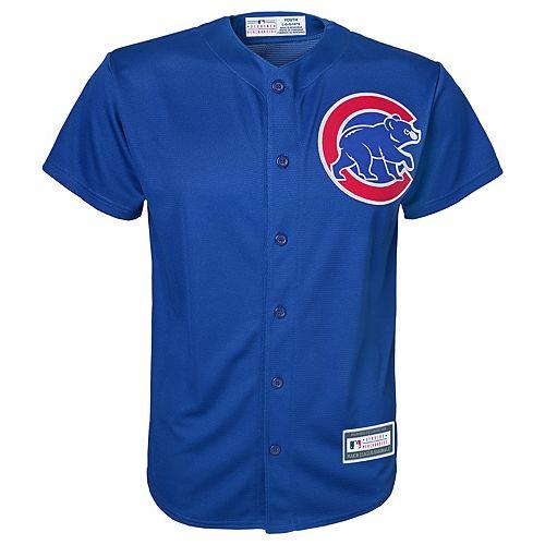 Boys 8-20 Chicago Cubs Replica Jersey 2a6ae359c921
