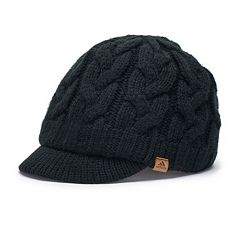 Women's adidas Crystal Cable Knit Brimmer Beanie