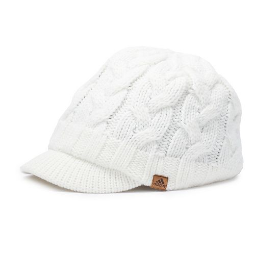 4c6143f50d2c9 Women s adidas Crystal Cable Knit Brimmer Beanie
