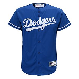 online store 0bfcc 965dd Men's Majestic Los Angeles Dodgers Cooperstown Peak Power Output Jersey