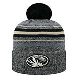 Adult Top of the World Missouri Tigers Sockhop Beanie