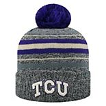 Adult Top of the World TCU Horned Frogs Sockhop Beanie