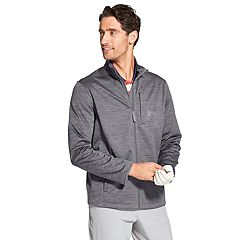 Men's IZOD Hydra Shield Space-Dye Bonded Golf Jacket