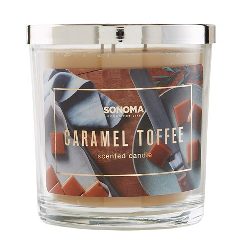 SONOMA Goods for Life™ Caramel Toffee 14-oz. Candle Jar