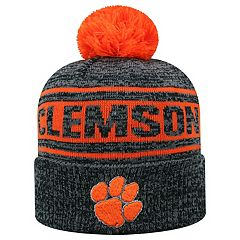 Adult Top of the World Clemson Tigers Sock it 2 Me Beanie