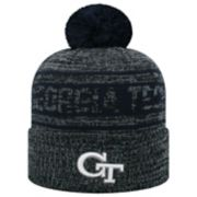 Adult Top of the World Georgia Tech Yellow Jackets Sock it 2 Me Beanie