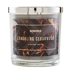 SONOMA Goods for Life™ Crackling Cedarwood 14-oz. Candle Jar