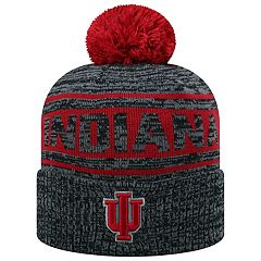 Adult Top of the World Indiana Hoosiers Sock it 2 Me Beanie