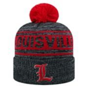 Adult Top of the World Louisville Cardinals Sock it 2 Me Beanie
