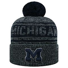 Adult Top of the World Michigan Wolverines Sock it 2 Me Beanie