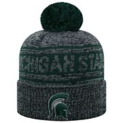 Adult Top of the World Michigan State Spartans Sock it 2 Me Beanie