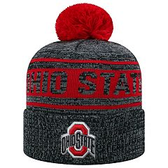 Adult Top of the World Ohio State Buckeyes Sock it 2 Me Beanie