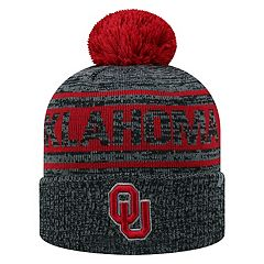 Adult Top of the World Oklahoma Sooners Sock it 2 Me Beanie
