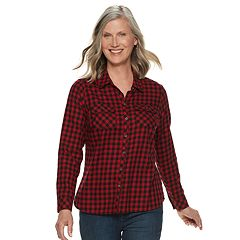 Petite Croft & Barrow® Classic Soft Shirt