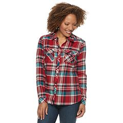 Petite Croft & Barrow® Extra Soft Classic Button-Down Shirt
