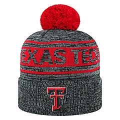 Adult Top of the World Texas Tech Red Raiders Sock it 2 Me Beanie