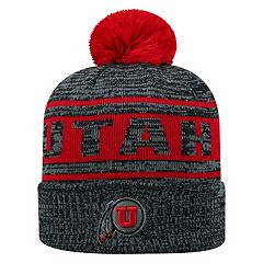 b5349db507b Adult Top of the World Utah Utes Sock it 2 Me Beanie