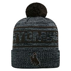 Adult Top of the World Wyoming Cowboys Sock it 2 Me Beanie