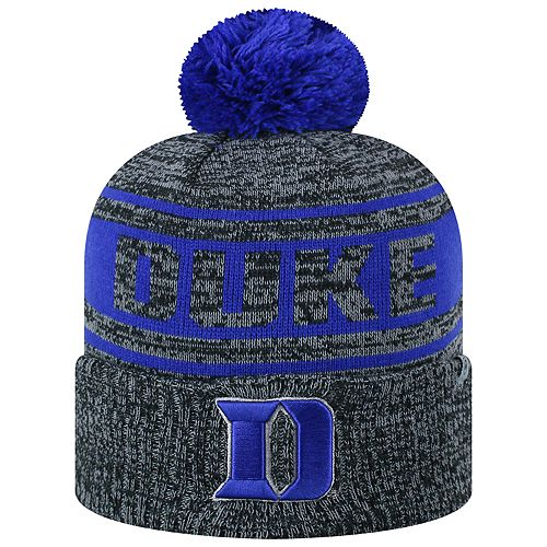 Adult Top of the World Duke Blue Devils Sock it 2 Me Beanie f480db9cc85